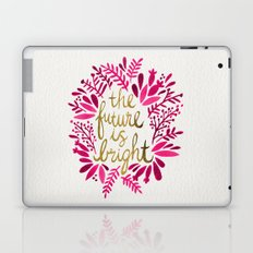 The Future is Bright – Pink & Gold Laptop & iPad Skin