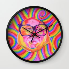 danny devito (being frank) Wall Clock