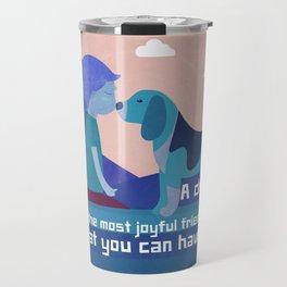 Joyful Friend 8 Travel Mug