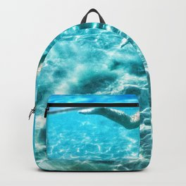 swimming girl  Backpack