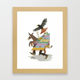 Thieves And Fools Framed Art Print