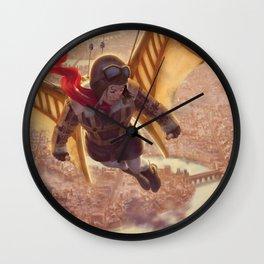 The Aviatrix Wall Clock