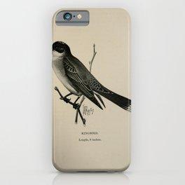 Vintage Print - Birdcraft: A Field Book of Birds (1897) - Kingbird iPhone Case