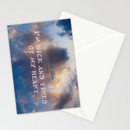 Body of conflict Stationery Cards