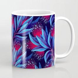 Pohutukawa - Red / Blue Coffee Mug