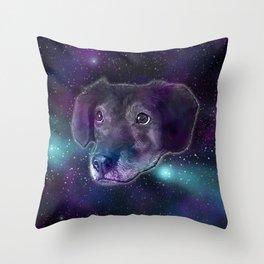 SpaceMar Throw Pillow