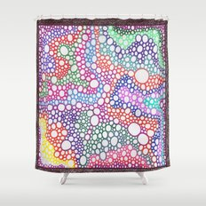 Bubbles 7 Shower Curtain
