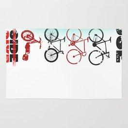 bike wars Rug