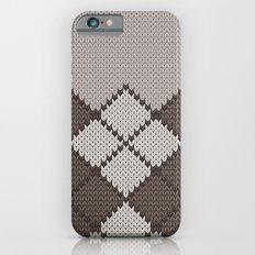 pattern series 059 argyle brown Slim Case iPhone 6s