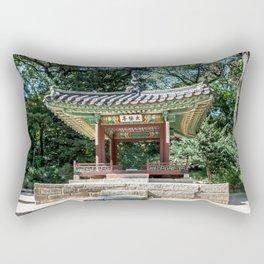 Taegeukjeong of the Secret Garden_Changdeokgung Palace Rectangular Pillow