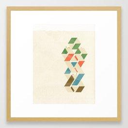 Parallelogram: Suits Framed Art Print