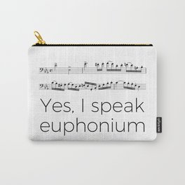 Do you speak euphonium? Carry-All Pouch