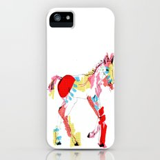 Baby horse colour iPhone (5, 5s) Slim Case