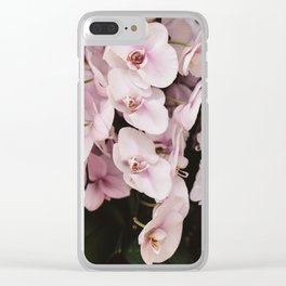 Orchids in Hong Kong Clear iPhone Case