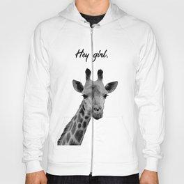 Hey Girl Giraffe Hoody