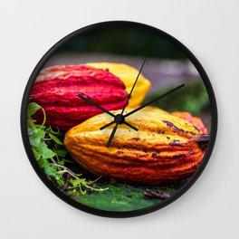 Cocoa Colours Wall Clock