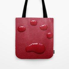 Water Paw-Print Tote Bag