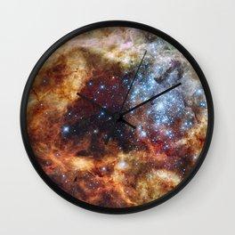 Grand Star Forming - A  Stellar Nursery Wall Clock