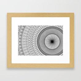 64 Foundational Arry Framed Art Print
