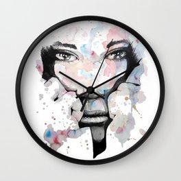 Kori by carographic, Carolyn Mielke Wall Clock