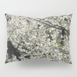 Blooming wild plum Pillow Sham