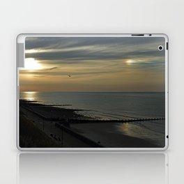 Cromer's setting sun and Sundog Laptop & iPad Skin