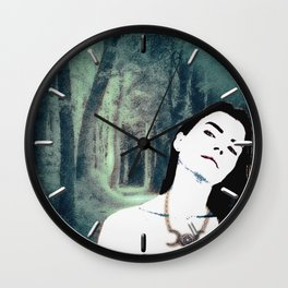 Witch In the Woods Wall Clock
