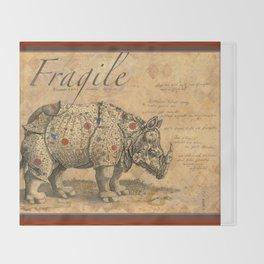 Fragile Throw Blanket