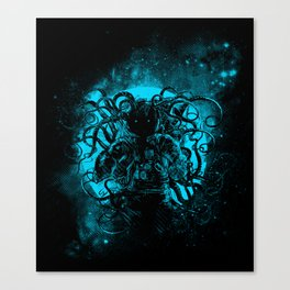 terror from the deep space Canvas Print