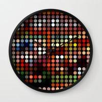 comic Wall Clocks featuring Comic by Triplea