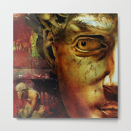 The last minutes Pompeii time ( Part 2  ) Metal Print