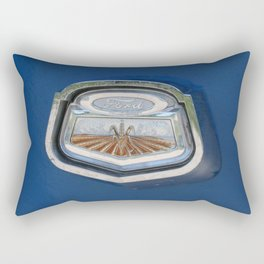 Vintage FORD Truck Badge Rectangular Pillow