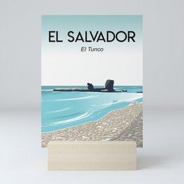 El Salvador el tunco Mini Art Print
