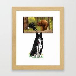 Karjalankondiekoiru Framed Art Print