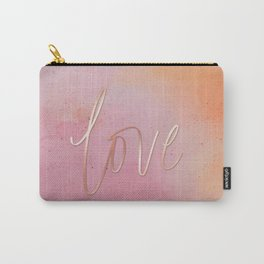 Love in the Clouds - Pink Carry-All Pouch