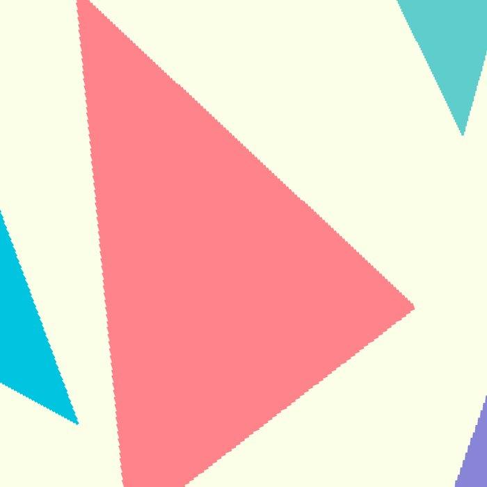 Colorful geometric pattern II Leggings