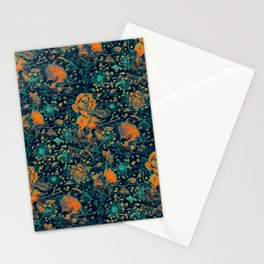 Life and Death Pattern Stationery Cards
