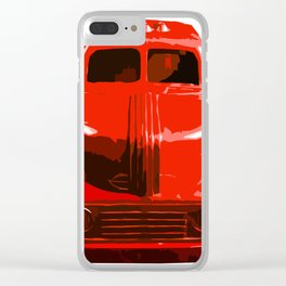 The Bad Trucko Clear iPhone Case