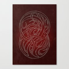 Seal of two worlds Canvas Print