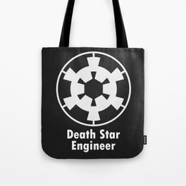 Death Star Engineer (white edition) Tote Bag
