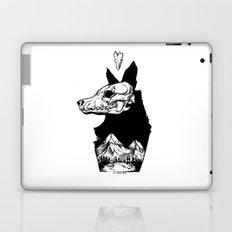 Black Wolf Mountain Laptop & iPad Skin