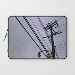 Power Lines Laptop Sleeve