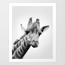 Gerald the Giraffe Art Print