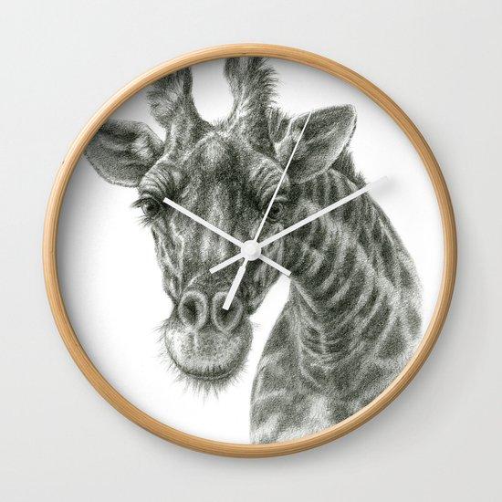 The giraffe G2012-049 Wall Clock