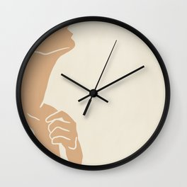 cut-out IX Wall Clock