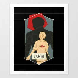 Jamie Legacy Silhouette Art Print