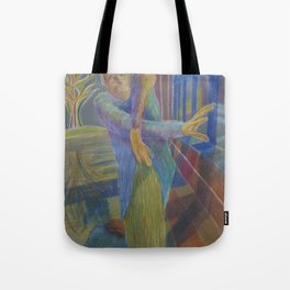 J in the dragon house Tote Bag