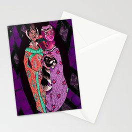 Ugly Sisters Mosaic Tiles Stationery Cards