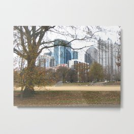 Atlanta Skyline2 Metal Print