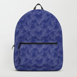 Simple Holiday Blues Backpack